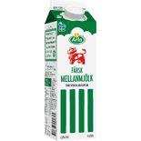 Mellanmjölk 1,5% Arla Ko 1l