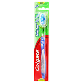 Twister Medium Tandborste 1p Colgate