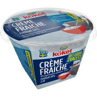 Crème Fraîche 34% 2dl Arla Köket