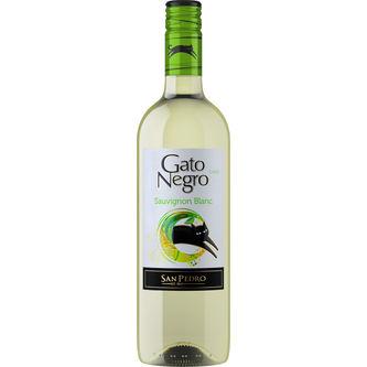Gato Negro Blanco Sauvignon Vin 12.5% 75cl Gato Negro
