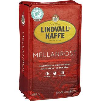 Mellanrost Bryggkaffe 450g Lindvalls