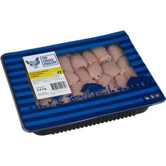 Kyckling Lårfilé Utan Skinn 2,5kg Top Choice