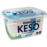 Keso Naturell Laktosfri 4% Keso 250g