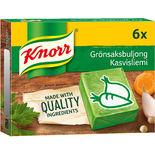 Grönsaks Buljong Tärningar Knorr 6p/3l