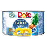 Tropical Gold Pineapple Slices In Juice Dole 227/139g