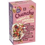 Crunchy Yoghurt & Jordgubb Garant 725g