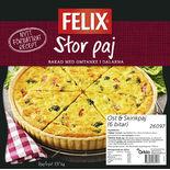 Ost & Skinkpaj Fryst Felix 1.37kg