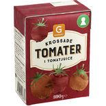 Tomater Krossade i Tomatjuice 390g Garant