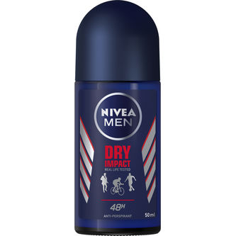 Dry Impact Men Deodorant Rollon 50ml Nivea Men