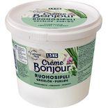 Softspread Gräslök Laktosfri Crème Bonjour 1,5kg