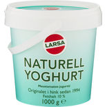 Yoghurt Turkisk Naturell Larsa Foods 1000g