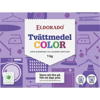 Tvättmedel Color 1kg Eldorado