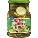 Smörgåsgurka Skivad Felix 370/240g