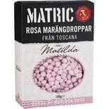 Marängdroppar Rosa Matric 100g