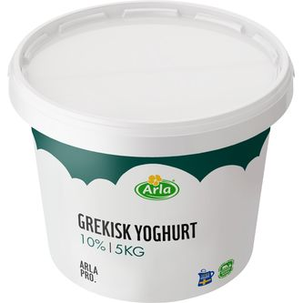 Yoghurt Grekisk 10% 5kg Arla Pro