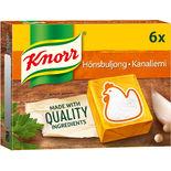 Hönsbuljong Tärningar Knorr 6p/3l