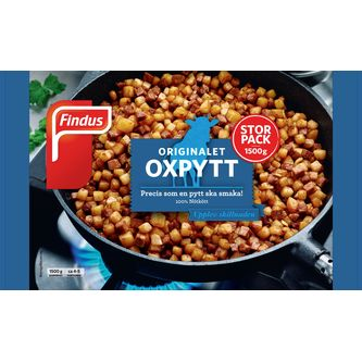 Oxpytt Big Pack Fryst 1.5kg Findus
