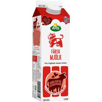 Mjölk 3% 1l Arla Ko