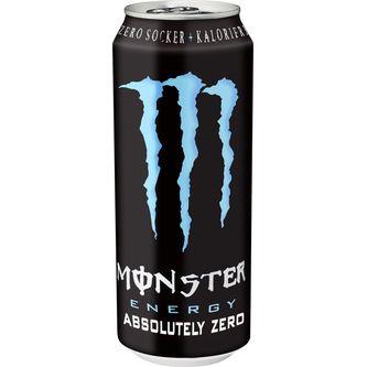 Monster Absolutely Zero Energidryck Burk 50cl Monster Energy