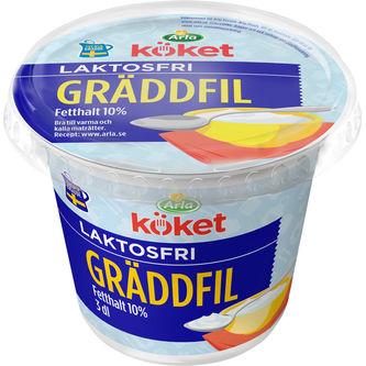 Gräddfil Laktosfri 10% 3dl Arla Köket