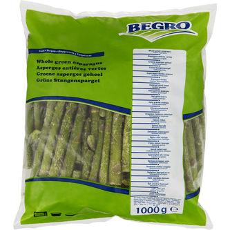 Grön Sparris Hel Fryst 1kg Begro